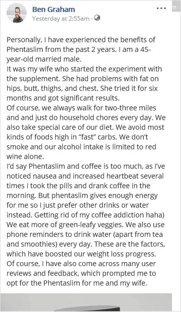 Phentaslim Fat Burner Review