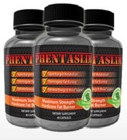 3 bottles of phentaslim tablets