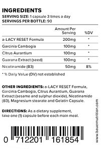 ingredients factsheet
