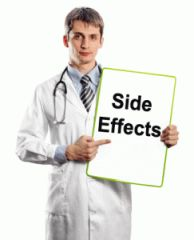 side effects of nuphedrine