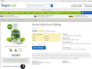 buy green coffee pure