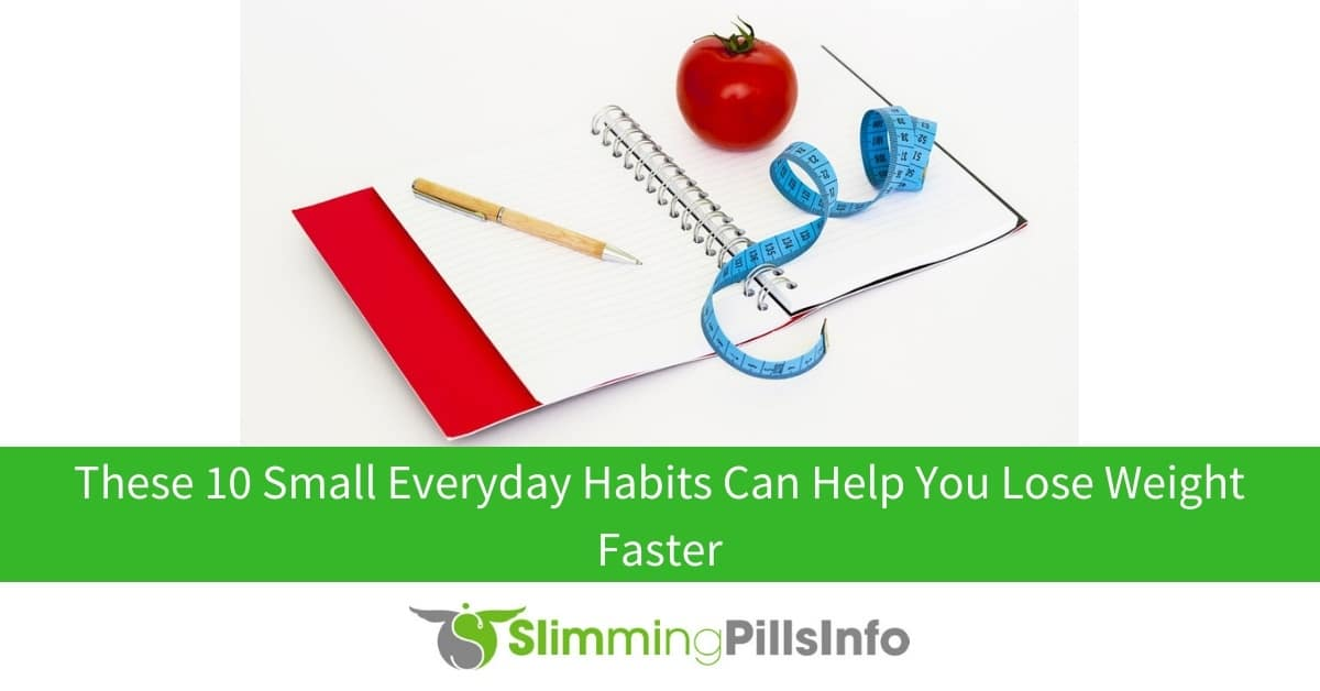 10 habits for faster weight loss