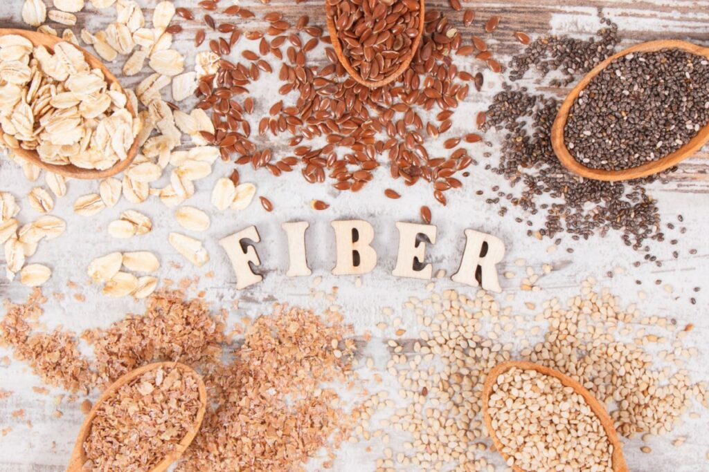 dietary fiber increases satiety