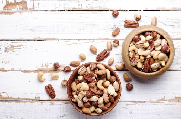 nuts and dried fruits for healthy snacking
