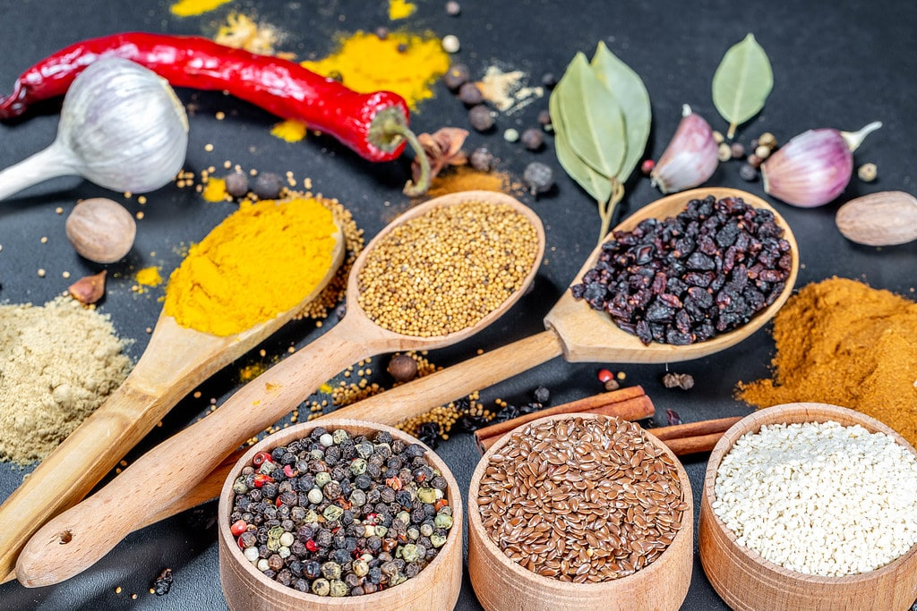 spices as hunger suppressor